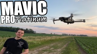 DJI Mavic Pro Platinum Combo Unboxing & Flug Deutsch German
