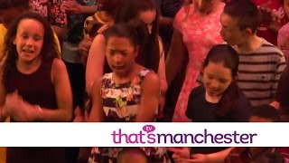 Harmonise featured on Thats Manchester