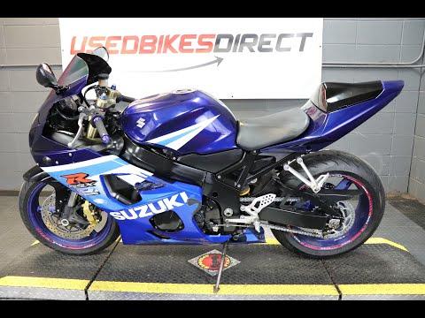 2005 Suzuki GSX-R 600 at Used Bikes Direct