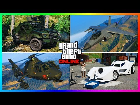 10 Weaponized Vehicles You MUST Buy In GTA Online!