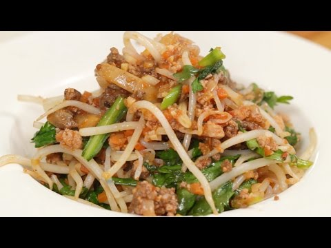 Low-Carb Shirataki Pasta with Meat Sauce Recipe | Cooking with Dog