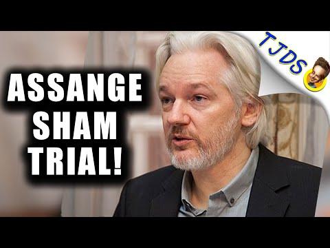 Julian Assange SHAM Trial Starting!   FREE ASSANGE!