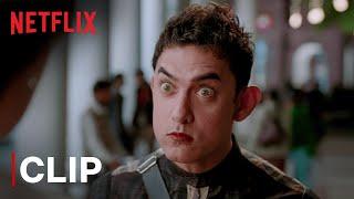 Aamir Khan Proves He Can Read People's Minds | Anushka Sharma | PK | Netflix India