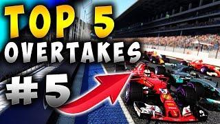Racing Games | Top 5 Overtakes Of The Week ep5