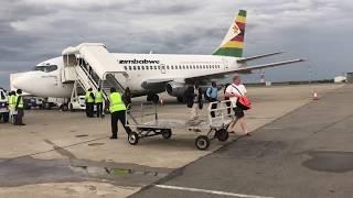 TRIPREPORT | Air Zimbabwe (Economy) | Victoria Falls   Harare | Boeing 737 200 Z WPA