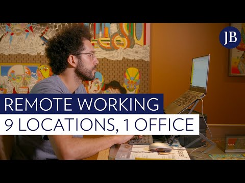 Remote working: 26 employees, 9 locations, but only one tiny office