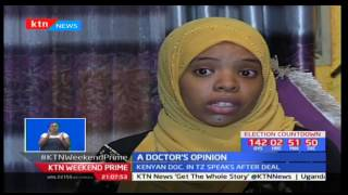 Dr Hafsa Mohamed from Tanzania reacts to president Pombe Magufuli's statement