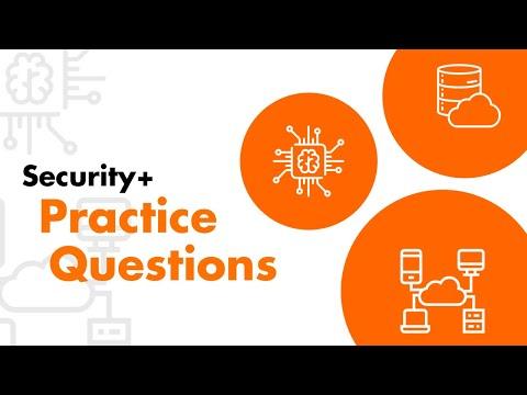 CompTIA Security+ 501 Exam Tutorial | 100 Practice Test Questions ...