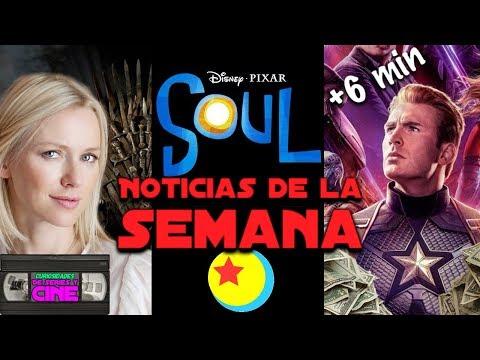 Noticias #27 -Material extra de Avengers Endgame, Soul de Pixar, precuela Juego de Tronos