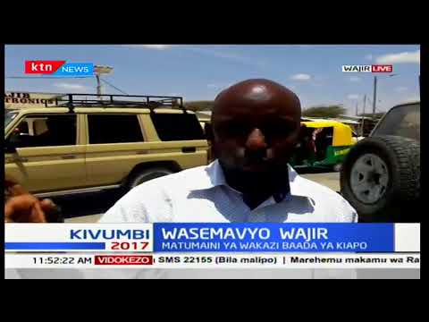 Wasemavyo Wajir: Matumaini ya wakaazi baada ya kupata gavana mpya