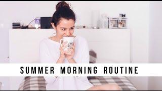 SUMMER MORNING ROUTINE | Teresa Macetas