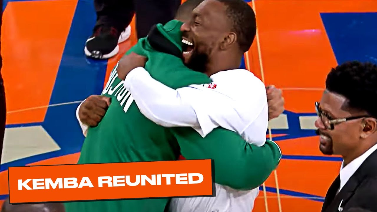 Kemba Mic'd Up With Old Celtics Teammates in Knicks Debut!