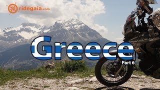 Ep 39 - Greece (part 6) - Around Europe on a Motorcycle