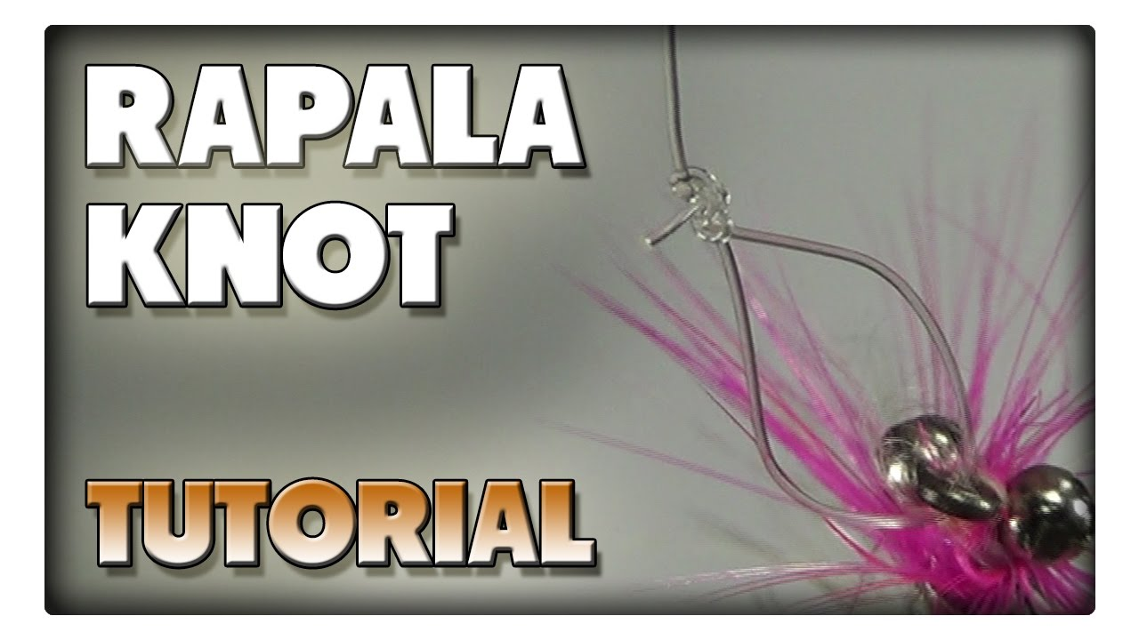 Angelknoten / Anglerknoten zum befestigen von kleinen Kunstködern - Der Rapala Knoten