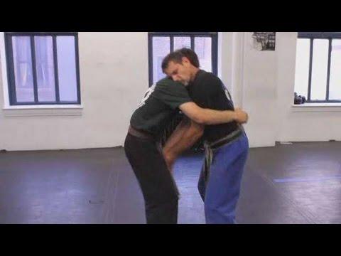 How to Defend against Front Bear Hug | Krav Maga