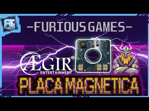 A melhor placa para arcades - Placa magnética - AEGIR E FURIOUSGAMES