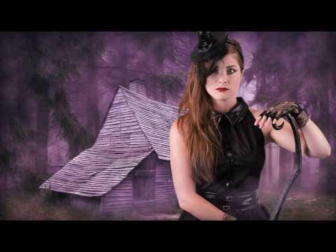 Tutorial de maquilhagem de bruxa para Halloween