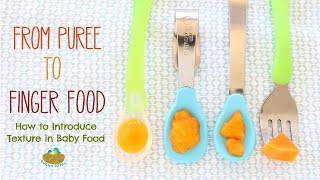From Puree To Finger Food - How To Introduce Texture In Baby Food