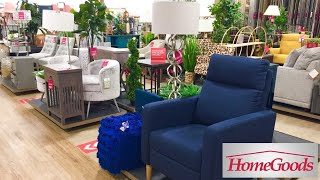 HOMEGOODS (5 DIFFERENT STORES) FURNITURE SOFAS CHAIRS DECOR SHOP WITH ME SHOPPING STORE WALK THROUGH