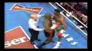 Hearns vs Barkley Rematch March 1992-rounds one and two