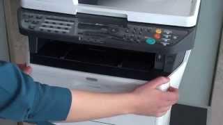 Replacing Toner: ECOSYS M2535dn  M2035dn