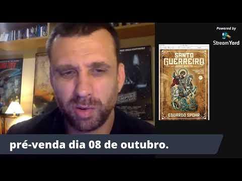 Santo Guerreiro: Roma Invicta | LIVE de revelação de capa