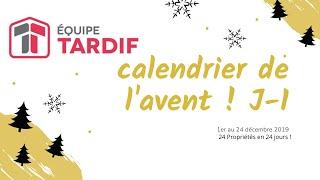 Ho Ho HO ! Calendrier de L'Avent 2019 de L'Équipe Tardif