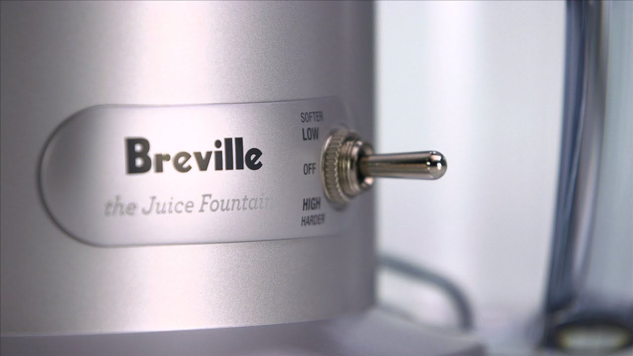Learn more about the Breville Juice Fountain®