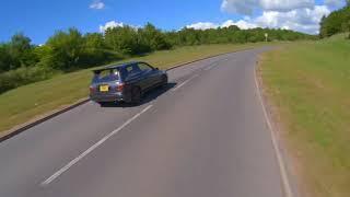 Nissan pulsar gtir filmed with an fpv drone