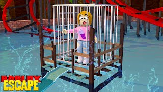 Roblox Escape The Waterpark Obby With Molly!