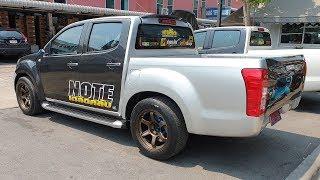 แวะร้านน้ามล กมลการยาง ชม D-MAX เงินล้าน NOTE เตลิดคลับ และ 370Z รถคู่ใจน้าอีกลำ : รถซิ่งไทยแลนด์