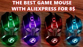 THE BEST GAME MOUSE ✔ IMice V5 WITH ALIEXPRESS FOR 8$