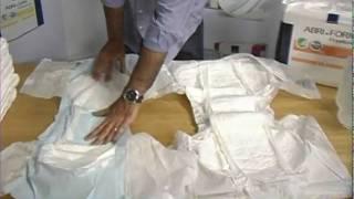 Abena Diaper Absorbtion Test