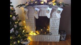 Моя елочка и мой новогодний декор/новогодний декор своими руками