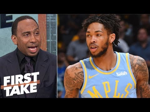 Download Lakers should explore using Brandon Ingram at PG - Stephen A. Smith | First Take HD Mp4 3GP Video and MP3