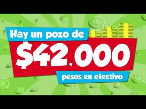 42 mil pesos de premio