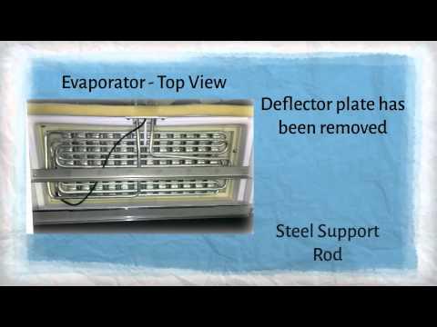 Changing the Evaporator Sensor