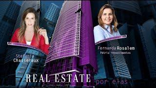 Real Estate por Elas - Fernanda Rosalem - Pátria Investimentos