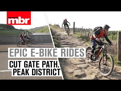 Epic Peak District Rides on EMTBs | Cut Gate Path | Mountain Bike Rider