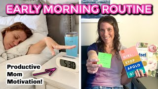 Early Morning Routine For Productive & Mindful Moms
