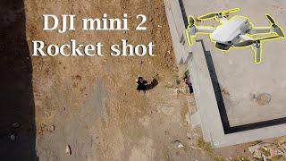 Dji mini 2 rocket Shot   Village life drone camera shot   Drone Lover