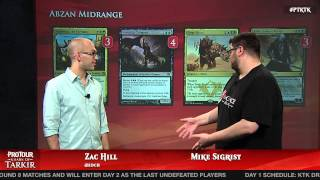 Pro Tour Khans of Tarkir Deck Tech: Abzan Midrange with Mike Sigrist