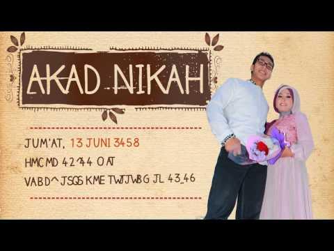 Video Undangan Pernikahan Iffan & Rini
