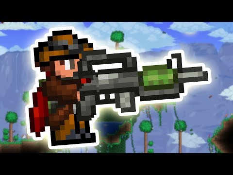 This Terraria mod adds in more GUNS to the RANGER Class!
