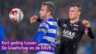 Kort geding tussen De Graafschap en de KNVB