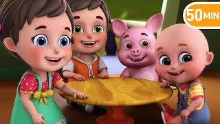 Akkad Bakkad Bambe Bo   hindi baby songs   Hindi Rhymes for children   jugnu kids