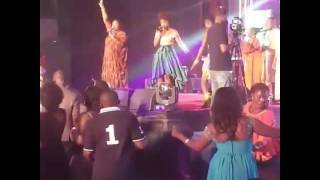 Becca, Wiyaala join Yvonne Chakacha to perform 'Thank You Mr DJ'
