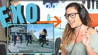 Vocal Coach Reacts - EXO 엑소 'Don't fight the feeling' MV
