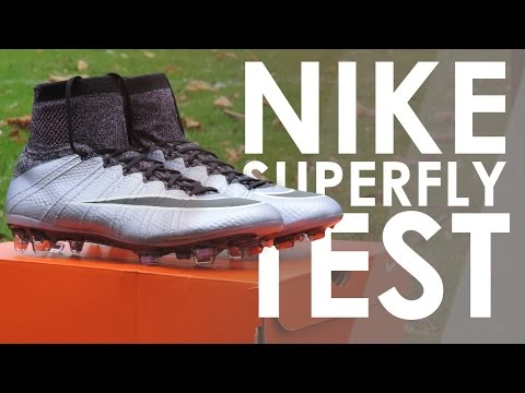 Testing CR7 Nike Mercurial Superfly  | Nike Liquid Chrome Pack  |  YouSkill