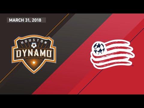 HIGHLIGHTS: Houston Dynamo vs. New England Revolutoin | March 312018